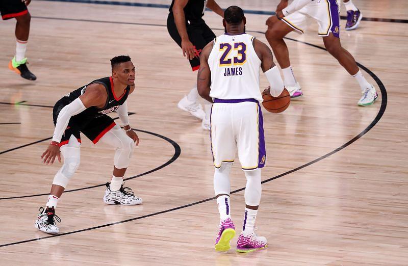 Los Angeles Lakers v Houston Rockets - Game Three