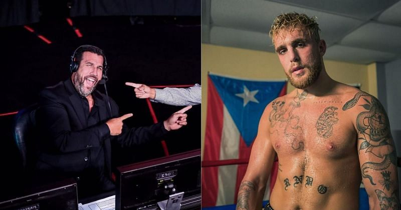 John McCarthy (left), Jake Paul (right) [Images Courtesy: @johnmccarthymma @jakepaul on Instagram]