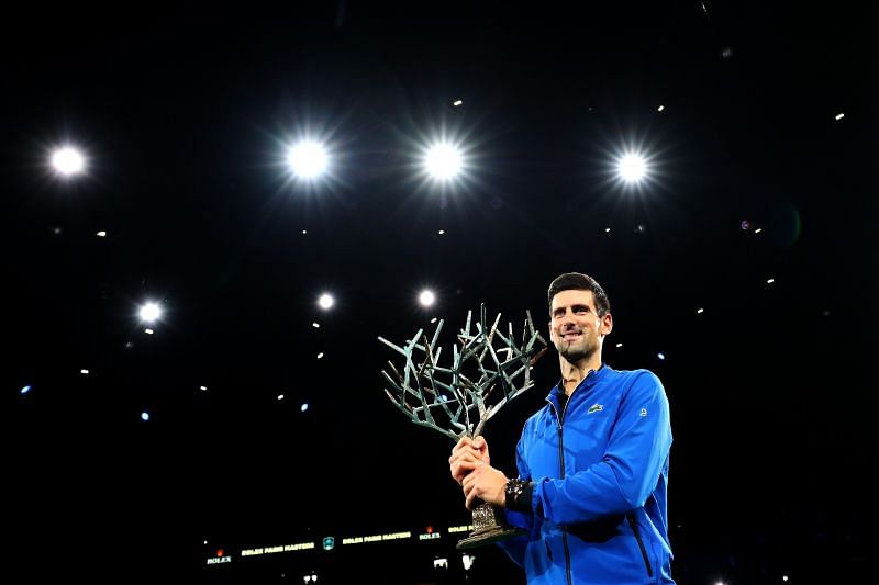 Novak Djokovic is the most celebrated player in the history of the Paris Masters