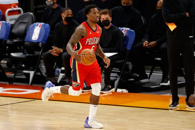 Eric Bledsoe in action during an NBA game.