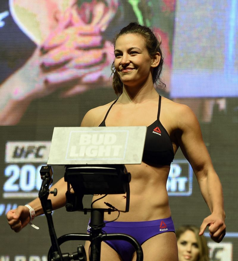 Meisha Tate at UFC 200 - Weigh-in