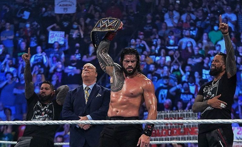 WWE Extreme Rules 2021 में रोमन रेंस ने डीमन फिन बैलर को हराया था