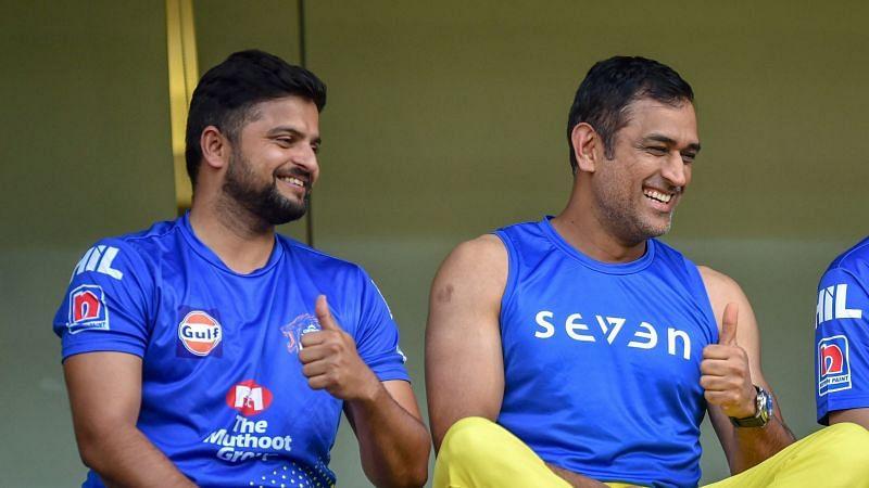 सुरेश रैना और एम एस धोनी इस वक्त आईपीएल के लिए दुबई में हैं