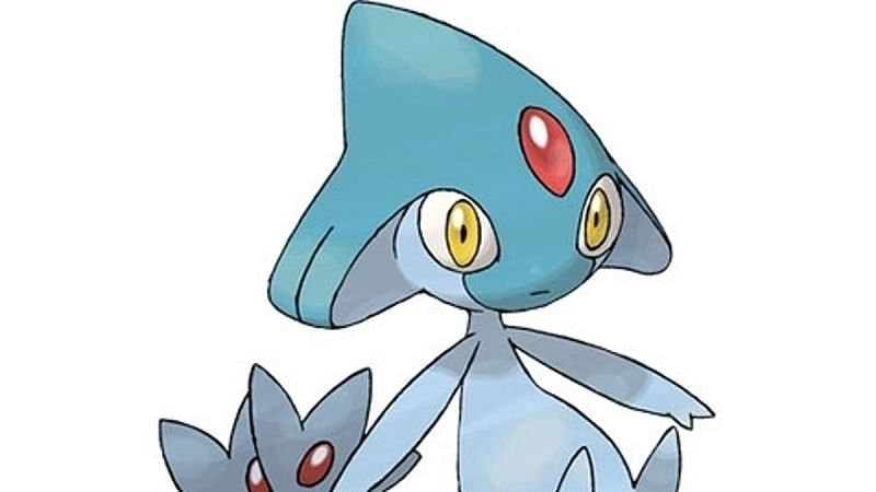 Azelf is a Psychic-type Legendary Pokemon consisting of a group known as the Lake Trio or Sinnoh's Lake Guardians (Image via Niantic)