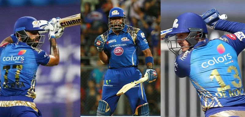 Three best knocks by MI batsmen in the first leg of the tournament