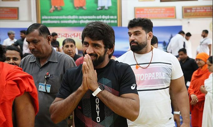 Bajrang Punia is an Olympic bronze medalist in 65 kg (©Bajrang Punia/Twitter)