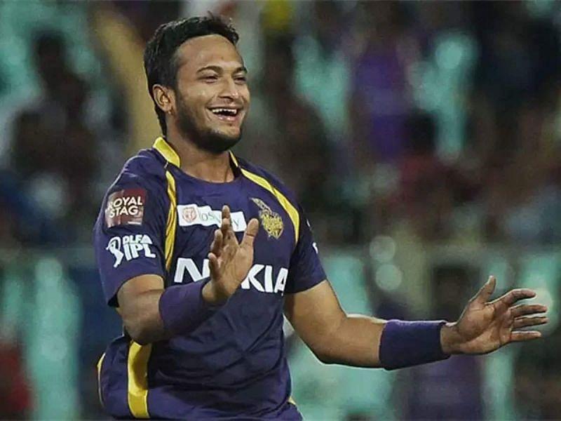 शाकिब अल हसन आईपीएल में केकेआर टीम का हिस्सा हैं