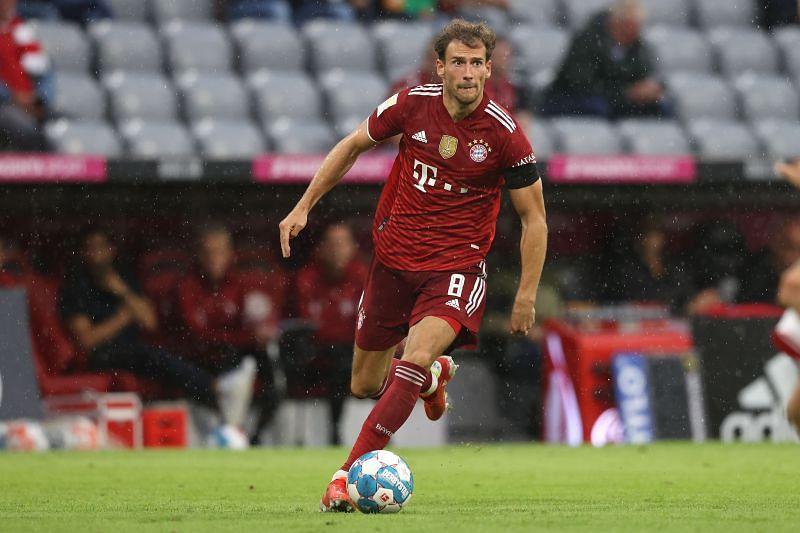 Leon Goretzka - FC Bayern München vs 1. FC Köln - Bundesliga