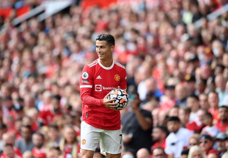 Manchester United forward Cristiano Ronaldo. (Photo by Laurence Griffiths/Getty Images)