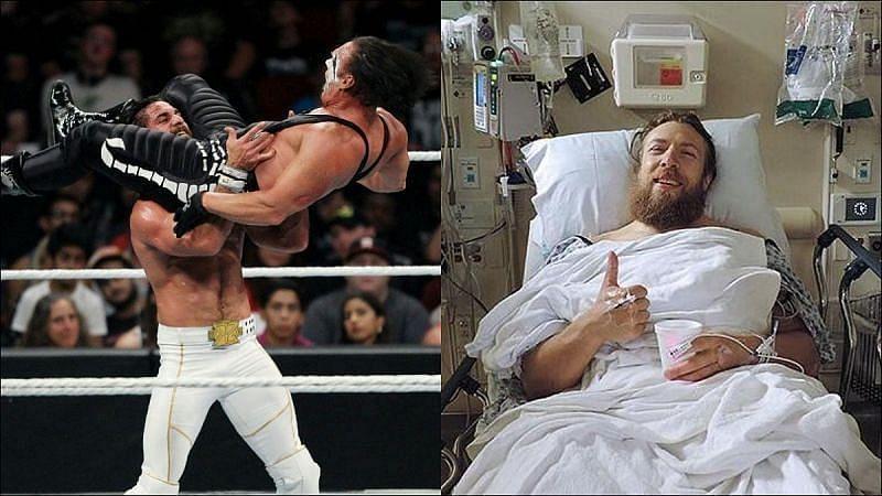 WWE में चोट के कारण कई सारे रेसलर्स का करियर खत्म कर दिया है
