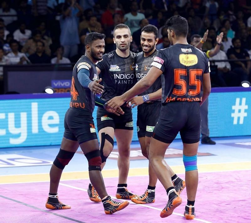 Rajaguru Subramanian (left) played for U Mumba last season. Will be able to deliver as their head coach in PKL 8?