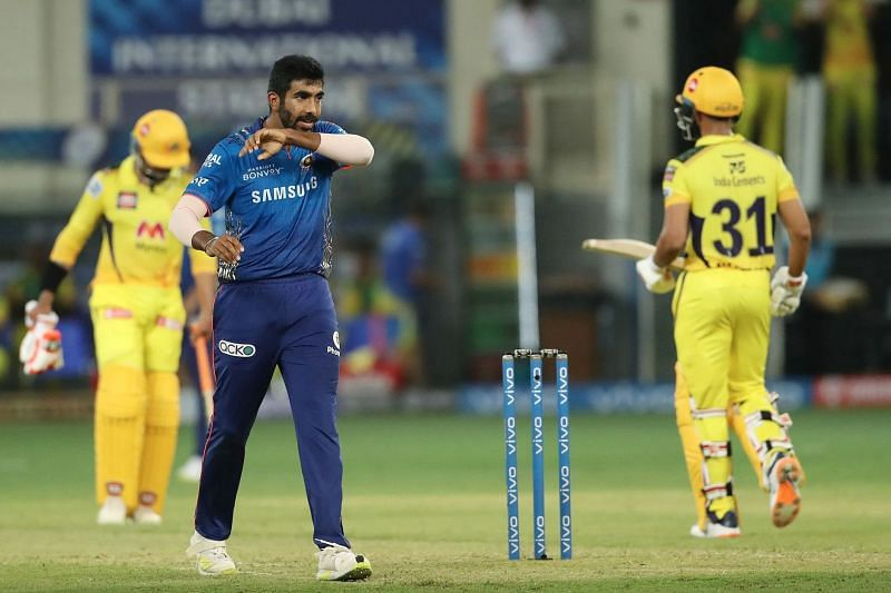 Jasprit Bumrah will be key in the death overs for the Mumbai Indians (Image: IPL)