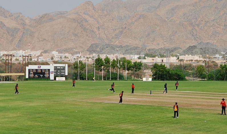 दोनों टीमों के बीच मुकाबला ओमान में खेला गया