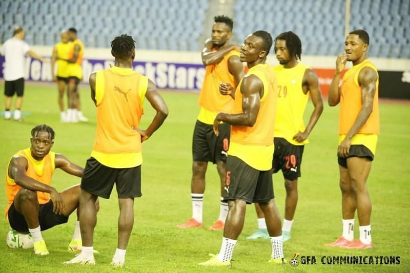 Ghana will take on South Africa on Monday