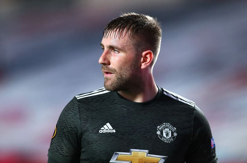 Luke Shaw has blossomed into a world-class full-back.