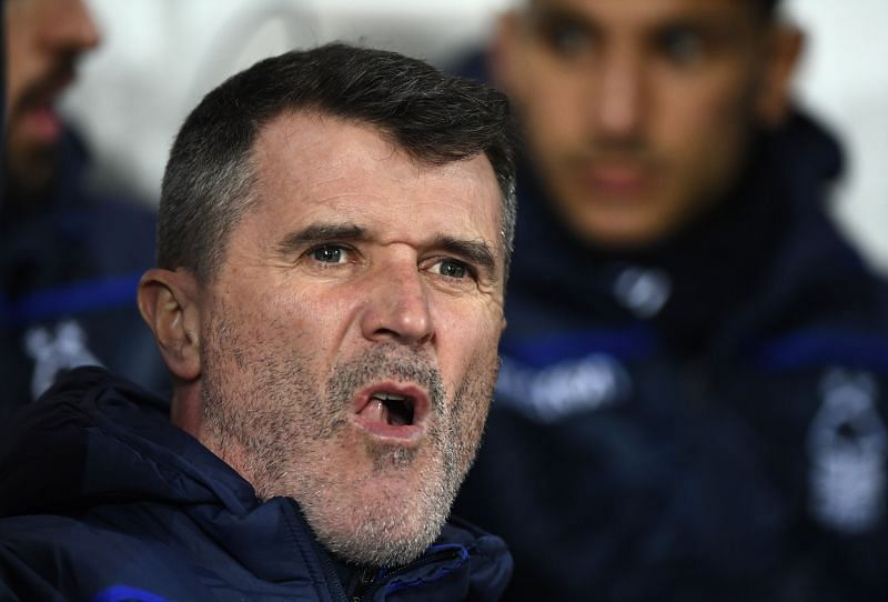 Football pundit Roy Keane. (Photo by Stu Forster/Getty Images)