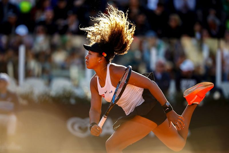 Naomi Osaka had a rather turbulent year, but looks to be on the mend now.