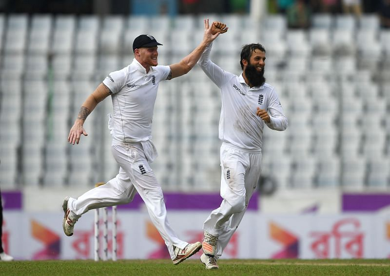 Ben Stokes and Moeen Ali. Pic: Getty Images