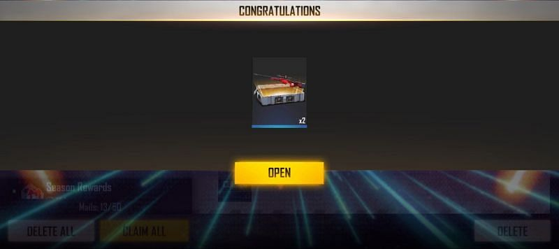 Users will get Swallowtail Weapon Loot Crate for using the code (Image via Free Fire)