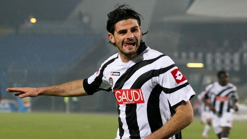 Vincenzo Iaquinta scored on his Champions League debut in 2005-06.