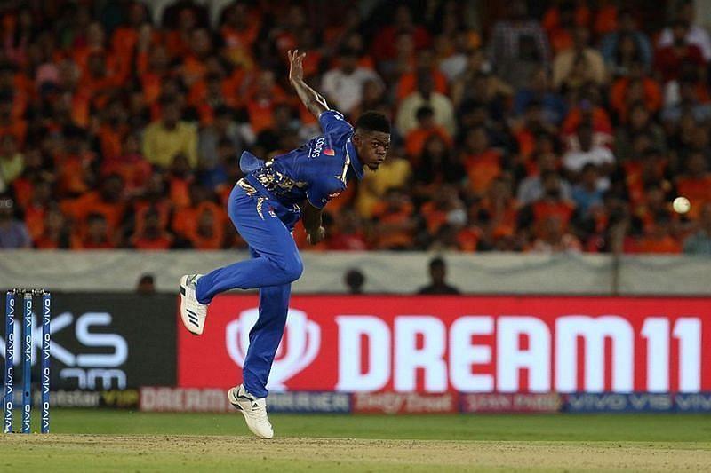 West Indies fast bowler Alzarri Joseph. Pic: IPLT20.COM