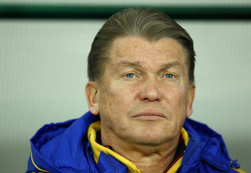Ukraine legend Oleg Blokhin.