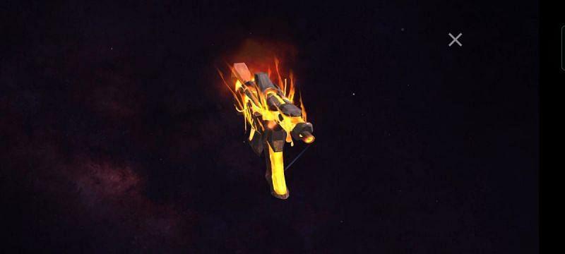 Free Fire में इवेंट के अंदर MP5 - Rogue Lava स्किन