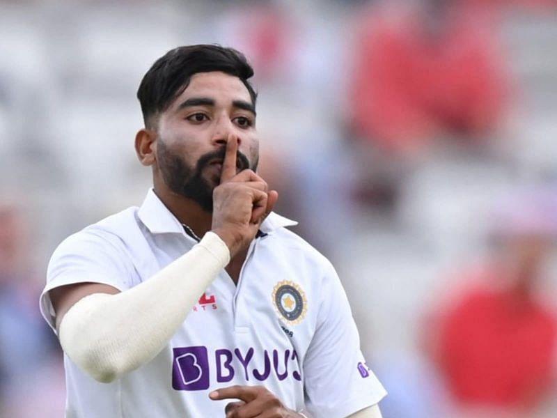 मोहम्मद सिराज ने इंग्लैंड दौरे पर आक्रामकता के साथ जबरदस्त गेंदबाजी की थी