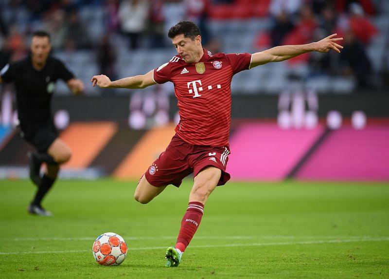 Robert Lewandowski has been a prolific scorer in the Champions League
