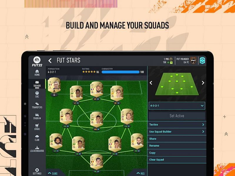 FIFA 22 Companion on the Play Store (Image via Electronic Arts)
