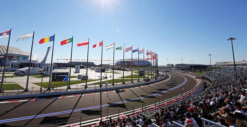 Sochi Autodrome Credits: F1