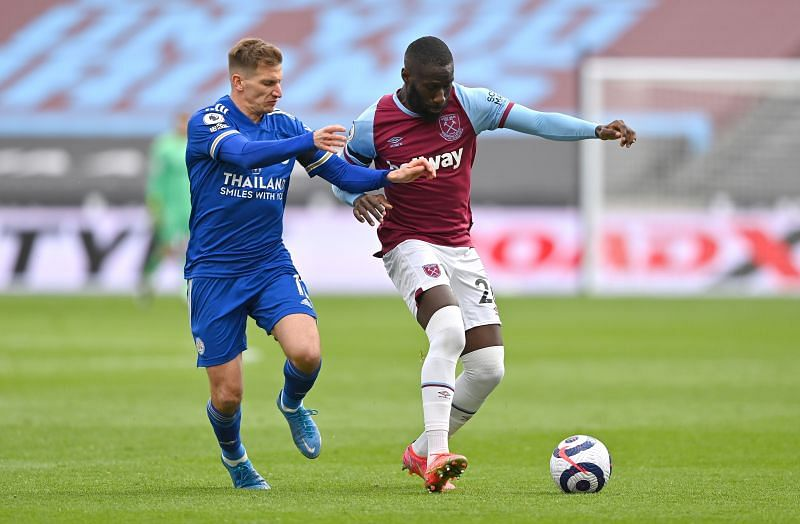 Masuaku in action for West Ham