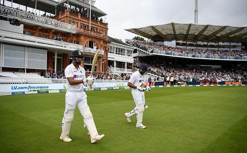 रोहित शर्मा और के एल राहुल ने शानदार बल्लेबाजी की है