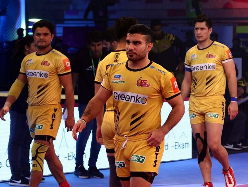Abozar Mighani (center) was an absolute steal for the Bengal Warriors.