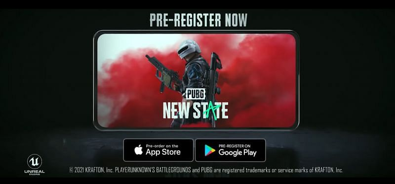 The Launch of PUBG New State is just around the corner (image via Krafton)