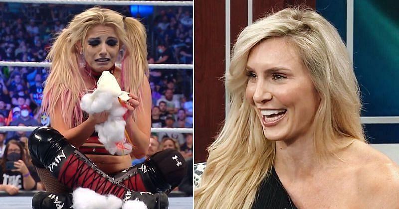 WWE एExtreme Rules 2021 में एलेक्सा ब्लिस और शार्लेट फ्लेयर का हुआ शानदार मैच