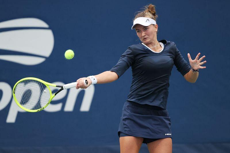 Krejcikova is yet to drop a set this week.