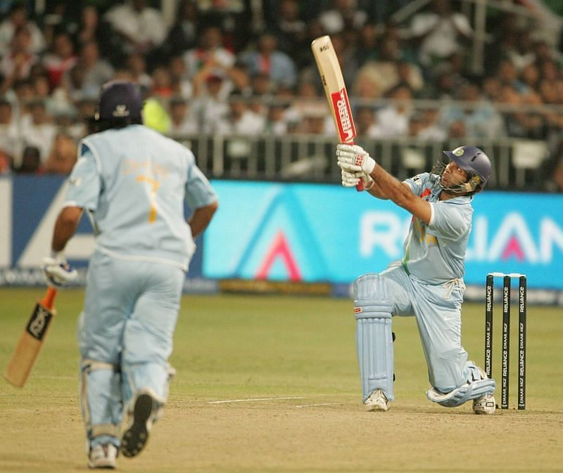 Yuvraj Singh was in fine form in the T20 World Cup in 2007.