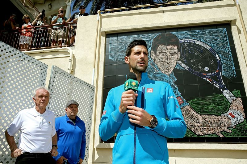 Novak Djokovic is a five-time champion at Indian Wells