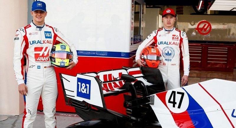 Mick Schumacher and Nikita Mazepin Image credits: Formula 1