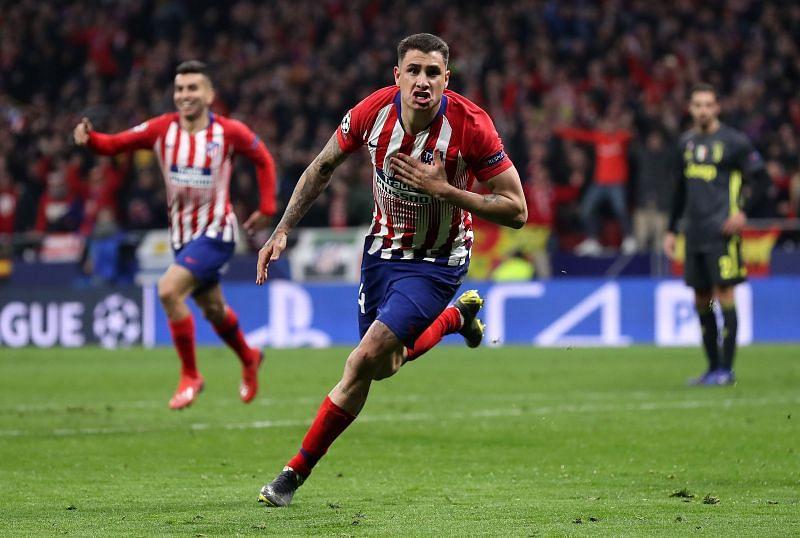 Jose Maria Gimenez continues to impress at the Wanda Metropolitano