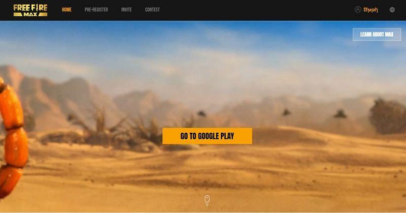 Situs web resmi Free Fire Max (Gambar melalui Garena)