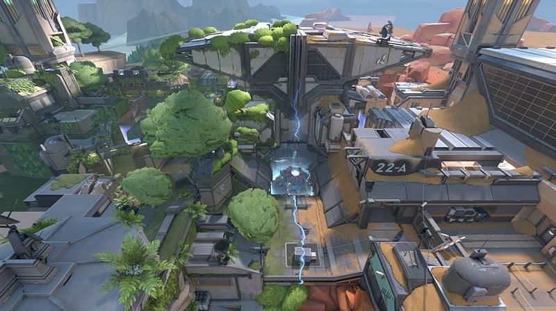 Valorant introduces a new map, Fracture in Episode 3 Act 2 (Image via Riot Games)