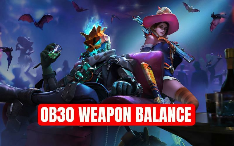 Weapon adjustments (Image via Sportskeeda)