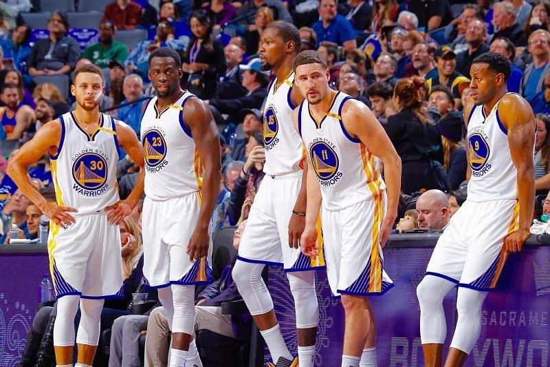 Golden State Warriors death lineup [Source: Bleacher Report]