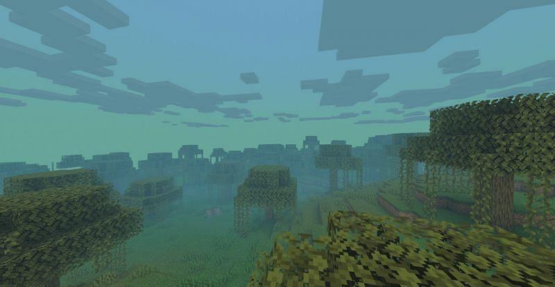 Bioma Rawa (Gambar melalui Minecraft / CurseForge)