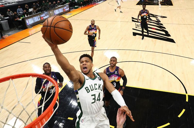 Giannis Antetokounmpo is one of the most dominant players in the NBA