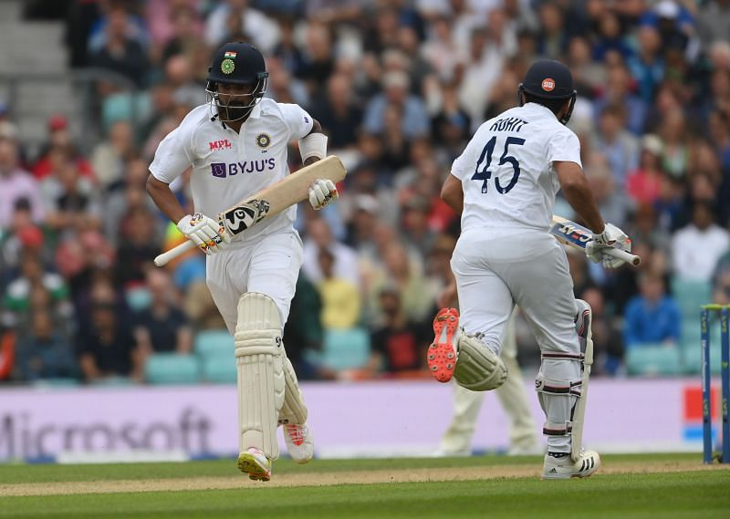 Rohit Sharma and KL Rahul added 83 for the opening wicket. Pic: Getty Images