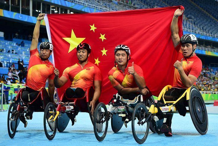 चीन ने लगातार चौथी बार पैरालंपिक खेलों में 200 से ज्यादा पदक जीते हैं।