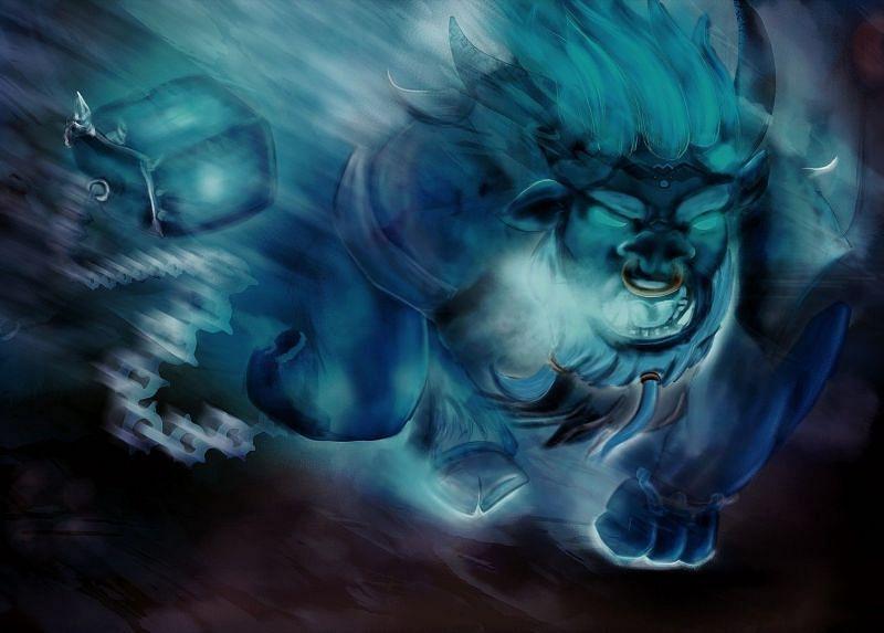 Spirit Breaker is one of the most gank-heavy roamers in Dota 2 (image via ArtStation)